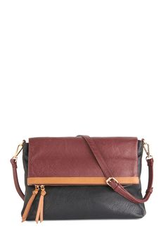 Any Time, Any Place Bag. You show off your chic style from one destination to another carrying this crossbody bag! #multi #modcloth