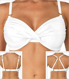 748b79e96a Swim Systems Diamond Shirred Underwire Swimsuit Top Style F794 Dd Swimwear