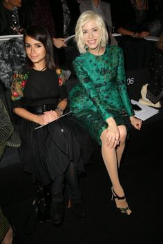 Giorgio Armani Prive: Front Row- Paris Fashion Week Haute-Couture Spring/Summer 2013 (January 22nd, 2013)