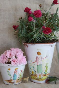 pots for planting Julie Whitmore