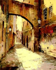 Artist Gleb Goloubetski #watercolor jd