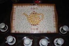 Αποτέλεσμα εικόνας για bandeja com mosaico