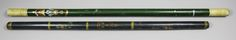 most likely a Green Staff Officer's baton.  1911 Investiture of the Prince of Wales