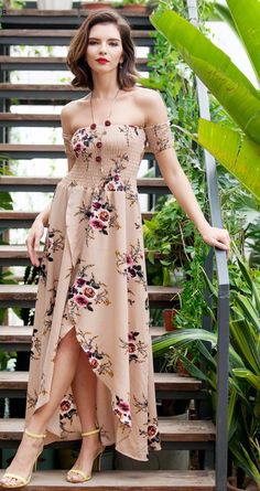 Off the shoulder chiffon floral print bohemian irregular preppy maxi dress Details  Polyester, Cotton Chiffon Imported Delicate Cold Wash Fits One Size Small