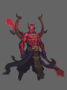 Another unused Darth Maul concept for contest by on DeviantArt Star Wars Cartoon, Cartoon Art, Fantasy Races, Fantasy Warrior, Graphic Artwork, Artwork Design, Dark Fantasy Art, Fantasy Artwork, Fantasy Character Design