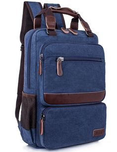 Leaper Vintage Laptop Backpack College School Casual Daypack Travel Rucksack >>> Find out more about the great product at the image link. (This is an Amazon Affiliate link and I receive a commission for the sales)