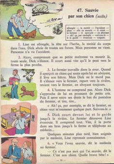 Manuels anciens: Tranchart, Levert, Rognoni, Bien lire et comprendre Cours élémentaire (1963) : grandes images French Learning Books, Teaching French, French Language Lessons, French Lessons, English Story Books, French Education, French Grammar, French Class, Learn French