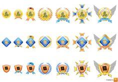 Lifeline Studios – Children's PC Game Achievement Badges | César Altagracia | 3D Environment Artist Portfolio