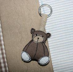 ... not only Teddy Bears ...: Portachiavi orsetto - Teddybear Key holder