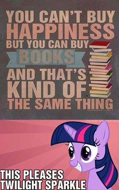 Books = Happiness