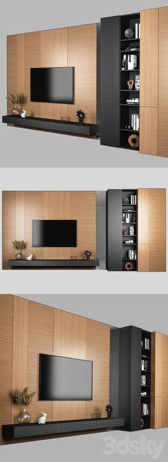 Tv Unit Furniture Design, Tv Unit Interior Design, Tv Wall Design, Tv Cabinet Design Modern, Wall Wardrobe Design, Modern Tv Room, Modern Tv Wall Units, Modern Living, Modern Tv Unit Designs