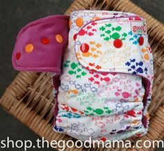 Bright in school. Goodmama diapers