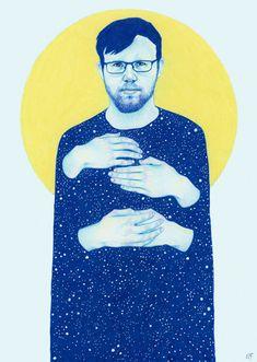 Inner sleeve artwork for Brunt - Natalie Foss
