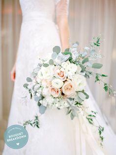 Bouquet Breakdown: Romantic Meadowood Napa Wedding Bouquet – Style Me Pretty