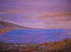 painting evening seascape beautiful sky wild flowers for sale Beehive Honiton, art exhibition Purple Art, Painting Edges, Painting, Art, Seascapes Art, Abstract, Seascape Paintings, Top Paintings, Online Art Gallery