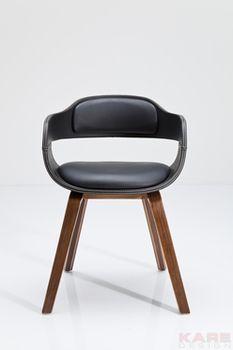 Kare Design :: Krzesło, fotel Costa Walnut (78581)