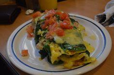 Spinach Omelette @ iHop, Las Vegas