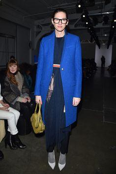 Jenna Lyons Photos - A Detacher - Front Row - Fall 2016 New York Fashion Week - Zimbio