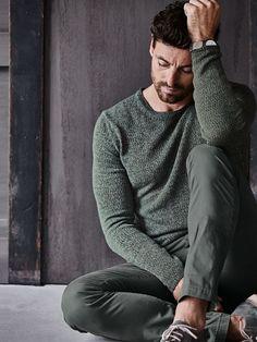 3342db700bb27 Pullover Ciarne in Farbe Grün Slim Fit jetzt online kaufen   Mey   Edlich