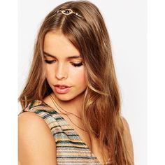 ASOS Interstellar Sleek Headband ($15) ❤ liked on Polyvore