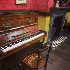 Working on BBC EastEnders Piano - Chiltern Pianos, Bovingdon.