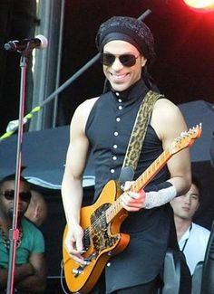Prince, his music speaks to me. So does that smile.