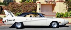 1970 Plymouth Superbird Sideview
