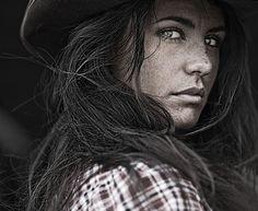 Cowgirl portrait