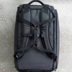 NOMATIC Travel Bag- Duffel/Backpack, Carry-on Size for Airplane Travel, Everyday Use with TSA Compliant Built in Laptop and Tablet Sleeve, Updated for 2020 Travel Luggage, Luggage Bags, Travel Bags, Best Carry On Backpack, Travel Backpack, Water Resistant Shoes, Carry On Size, Sailing Outfit, Vacuum Bags