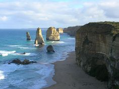 Great Ocean Road, Melbourne Australia. It looks just as beautiful in person i really want to go see it again!