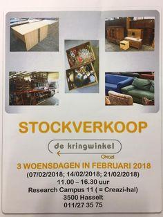 Stockverkoop De Kringwinkel Hasselt -- Hasselt -- 07/02-21/02