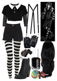 A fashion look from November 2015 by theartisticorca featuring American Apparel Bobbi Brown Cosmetics and Essie Cute Emo Outfits, Pastel Goth Outfits, Punk Outfits, Gothic Outfits, Mode Outfits, Grunge Outfits, Girl Outfits, Fashion Outfits, Emo Fashion