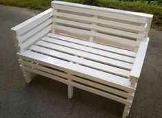 Upcycled Wooden Pallet Bench | 99 Pallets