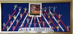 Atatürk'ün İzindeyiz Primary School, Special Day, Flag, Classroom, Display, Country, Logos, Silk, Class Room