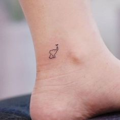 Elephant tattoo on the ankle. - - Elephant tattoo on the ankle. Tattoo Style Tattoo Style Elephant tattoo on the ankle. - - Tattoo Style Elephant tattoo on the ankle. Tiny Tattoos For Girls, Cute Tiny Tattoos, Pretty Tattoos, Mini Tattoos, Tattoo Girls, Beautiful Tattoos, Tattoos For Guys, Tattoos For Women Small, Large Tattoos