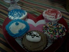 My First Cup Cakes...This is just the beginning of my new found love for baking