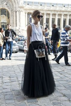 34 CLASSY TULLE SKIRTS TO FLAUNT IN THE SUMMER STREETS.... - Godfather Style