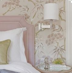 { P A N T O N E  2 0 1 6 } Inspiring by @pantone 2016 colour of the year today - Rose Quartz. Such a feminine shade, particularly for a bedroom scheme. Image via Pinterest #Pantone #pantone2016 #pantonecoloroftheyear #rosequartz #feminine #bedroom #classic #theclassicoutfitter