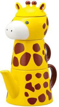 Japanese Gift Market Giraffe Tea For One Set