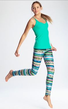 Don't we all have enough black leggings?  SHAKE IT UP! Rese Activewear