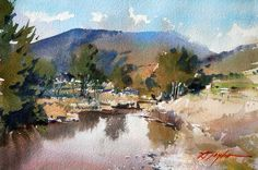 workshops of David Taylor, watercolour painter from Melbourne, AustraliaDavid Taylor artist