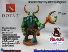 Tequoia, Nature's Prophet! from Dota 2 Sculpture We take commissions! and ship all over the world ^^ For more like these please visit our FB fan page: https://www.facebook.com/hideokiaccesorios