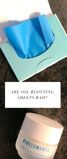 Are oil blotting sheets bad for your skin? Learn the truth. Combination Skin, Oily Skin, Natural Skin, Your Skin, Stress, Skin Care, Learning, Skincare Routine, Studying