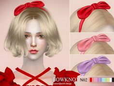 Sims 4 CC's - The Best: Bowknot by S-Club