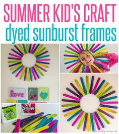 45 Easy and Creative DIY Popsicle Stick Crafts Ideas 45 Easy and Creative DIY Popsicle Stick Crafts Easy and Creative DIY Popsicle Stick Crafts IdeasAs children, we all loved when someo Diy Popsicle Stick Crafts, Popsicle Sticks, Craft Sticks, Summer Crafts For Kids, Summer Kids, Summer Heat, Easy Diy Crafts, Crafts To Make, Kids Crafts