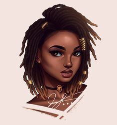 Drawings, black art, and black girl magic image Black Love Art, Black Girl Art, Black Girl Magic, Art Girl, Black Girls, Pretty Black, African American Art, African Art, Natural Hair Art
