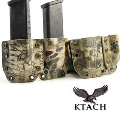 Kydex OWB Pistol Mag Carriers | KTACH Kydex Solutions