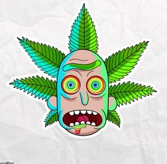 33 ideas drawing trippy rick and morty Rick Und Morty Tattoo, Rick And Morty Drawing, Trippy Rick And Morty, Ricky Y Morty, Rick And Morty Poster, Trippy Drawings, Marijuana Art, Medical Marijuana, Cannabis Oil