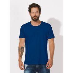 unite basic slub organic cotton scoop neck t-shirt - men