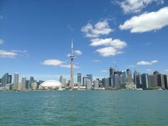 Skyline from the Harbor - Toronto, Ontario - Photo